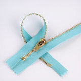 High Quality No. 3 Gold Brass Zipper for Jeans