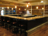 Golden Granite & Marble Kithen Countertop for Hotel