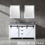 60 Inch North America Style High Quality Bathroom Furniture Vanity