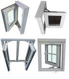 Bahamas PVC Hurricane Proof Window and Door with Triple Glass