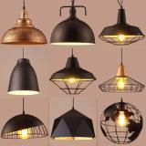 American Retro Industrial Style Iron Art Pendant Light Bar Cafe Restaurant Chandelier Pendant Lamps
