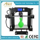 Hot Sale Anet Household A6 Desktop Fdm DIY 3D Printer
