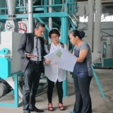 Oversea Service Maize Mill Plant for Installation Maize Flour Processing