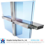 Stick System Curtain Wall / Insulated Glass Panel / Aluminum and Glass