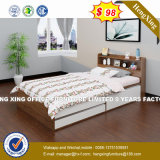 Modern Sheraton Hotel Bedroom Set Wooden Bed (HX- 8NR1082)