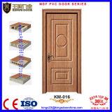 Safety Indian Interior Wooden PVC Sheet Door