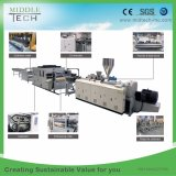 China Wholesale Price Plastic PVC/UPVC+PMMA/ASA Corrugated Foaming/Foam Roofing Tile Roller Forming Machine