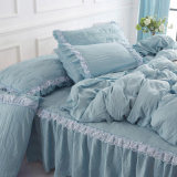 220cm 80GSM 100% Polyester Dyed Fabric Textile for Bedding