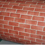 Brick Color Coated Aluzinc Steel Sheet Price in Coil Cladding Steel Frame