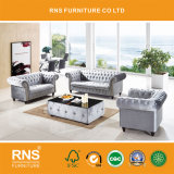 D033b Best Selling Living Room Fabric Chesterfield Sofa Set