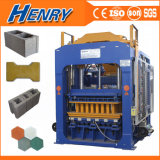 Huge Capacity Qt10-15 Concrete Hollow Block / Brick Making Machine Paving Interlocking Brick Machine Factory Hot Recommended