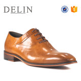 Oxford Camel Color Dress Shoes for Men Business Office