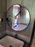Hotel Wall Mounted Mirror LED Lighted Backlit Bluetooth Mirror for Makeup Shaving