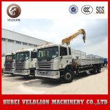 Telescopic Boom Truck Crane JAC 10ton Truck Mounted Crane, 12 Ton Truck with Crane