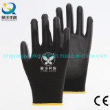 En388 4131X 13G Polyester Liner with PU Coated Safety Work Gloves with Ce Certificated