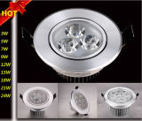 High Quality 1W/3W/5W/7W/9W/12W/15W/18W/21W/24W Ceiling Recessed LED Spotlight with Constant Current Drive Power Supply