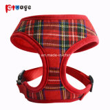 New Printed Fabric Soft Dog Harness Clothing Pet Products