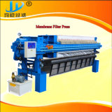Program Controlled Auto1000 PP Membrane Filter Press with Cloth Washing and Shaking System