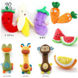 Multi Style Pet Products Pet Plush Fruit Toy