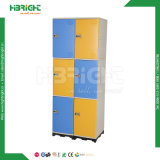 Coin Operated Swimming Pool ABS Plastic School Locker
