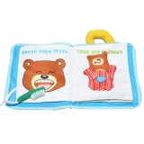 Early Learning Development Books for Babies Soft Fabric Cloth Toy