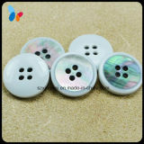 Custom Combination Flat Four Holes Shell Button for Clothing