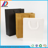 Multifunctional Blank Black/White/Brown Kraft Paper Bag