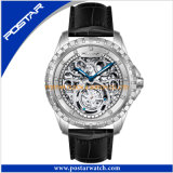 Skeleton Automatic Watch with High Quality for Men