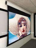 16 9 133 Inch Motorized Tab Tensioned Projector Screen