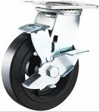 Total Brake Heavy Duty Caster Rubber Caster