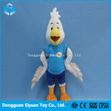 12′′ Custom White Duck Soft Plush Stuffing Toy for Kids