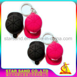OEM Lovely 3D Cute Cartoon Design PVC Rubber Key Chains