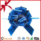 Factory Outlet Blue Metallic Star Flower Ribbon Bow