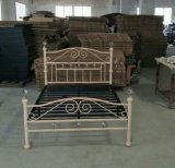 Black Color Strong Metal and Steel Bed