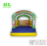 New Design Kids Cute and Simple Little Pink Pig Inflatable Jumping Bouncer