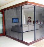 Aluminium Frame Fibreglass Mesh Horizontal Retractable Insect Screen