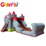 Castle Bounce House with Water Slide Inflatable Bouncers for Children