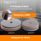 Kynko Professional Power Tools Spare Parts Wet Polishing Pads