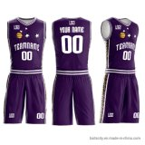 Custom Cheap Shirt 100% Polyester Latest Design Sublimated Embroidered Basketball Jersey for Boy