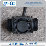 G1′′ Rate 0-60L/Min Plastic Black Water Meter, Flow Sensor for Drinking Water
