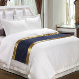 Customized Chinese Style Hotel White Duvet Cover Cal. King