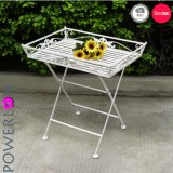 Antirust Square Foldable Metal Garden Tray Table