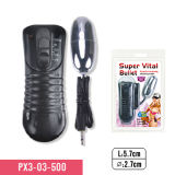 100% Waterproof Material Adult Sex Toy 4-Speed Bullet Powerful Vibrator