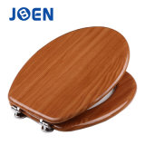 17/18/19 Inch MDF Veneer Mouled Wood Toilet Seat Cover