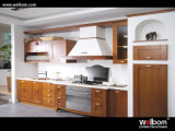 Welbom Walnut Solid Wood Modern Hangzhou Wholesale Custom Kitchen Cabinet Door Furniture