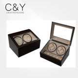 4+6 Burl Wood Matte Lacquer Automatic Watch Winder