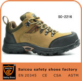 Rubber Sole Summer Woodland Lightweight Safety Shoes Sc-2216