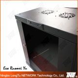 Double Section Wall Mounted Newtork Cabinet with LCD Control Panel