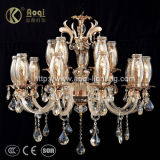 Modern Simple Crystal Chandelier for Indoor (AQ20040-10+5)