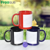 Best Price 11oz Sublimation Ceramic Mug with White Patch